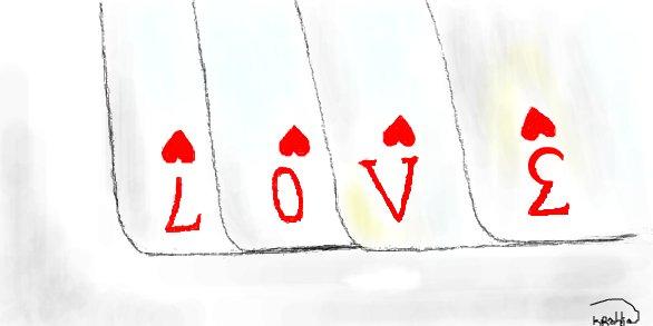 Нарисовать, рисунки с надписями про любовь карандашом